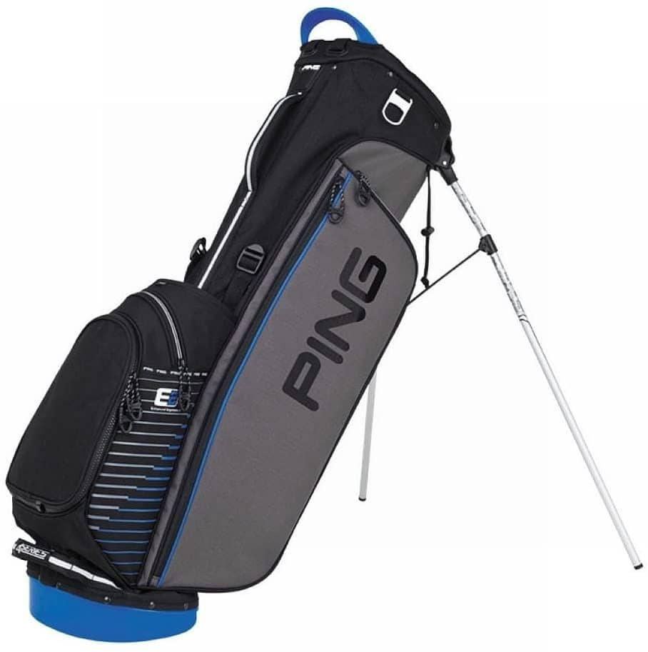 How to fold ping golf travel bag
